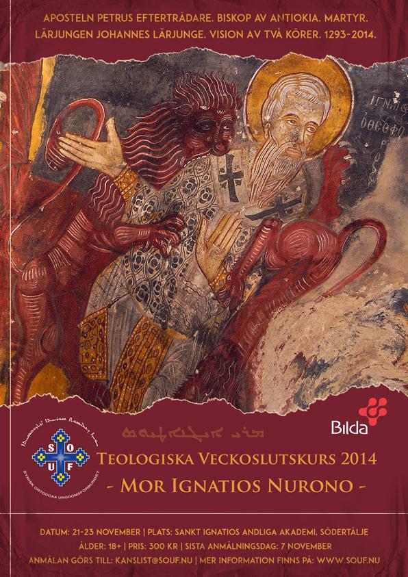 Affisch till SOUF Teologiska Veckoslutskurs 2014
