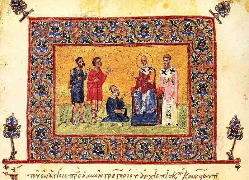 Ikon av Gregorios av Nazianzos