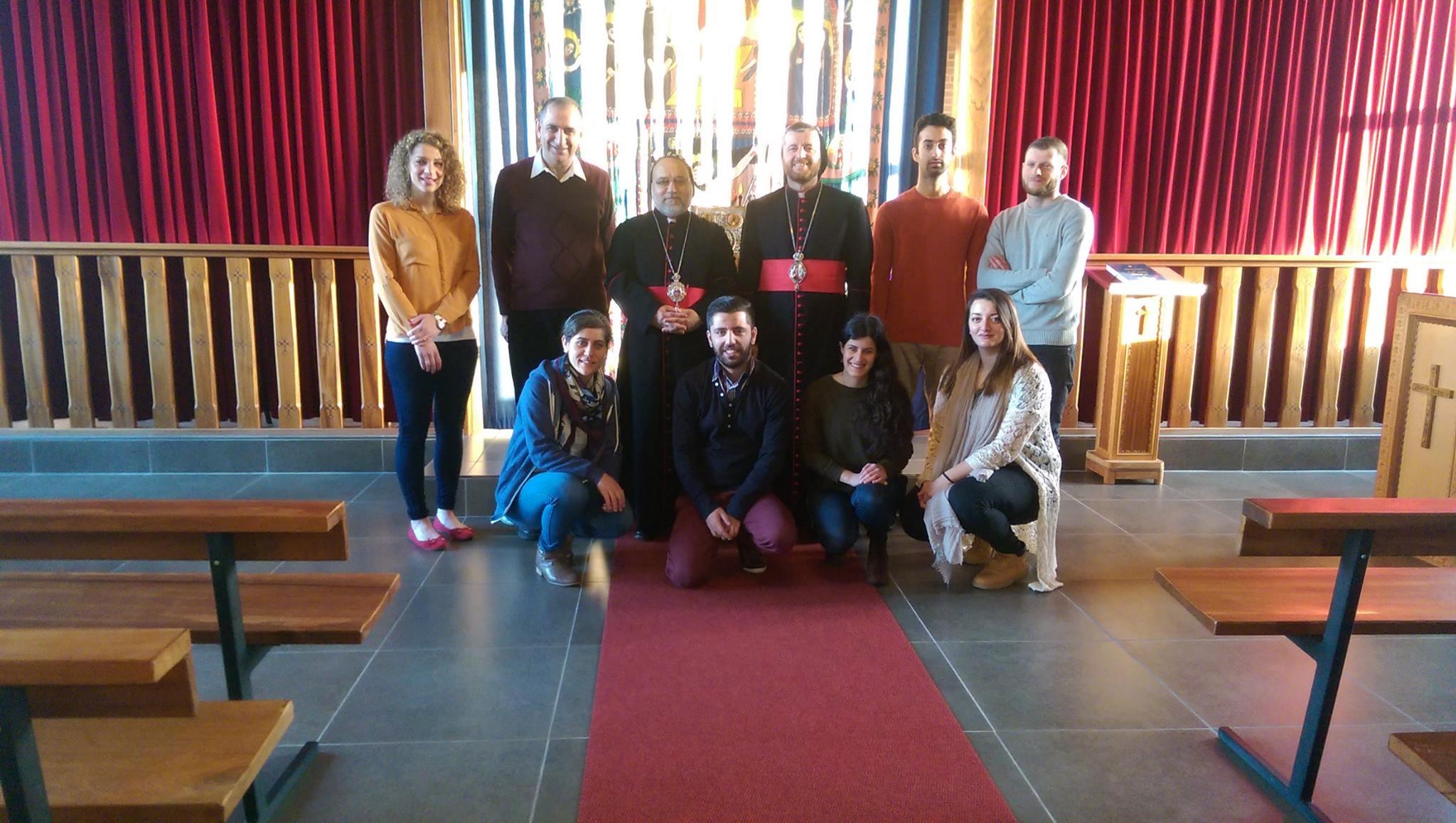 Ungdomarna och biskopen som kommer att spela en huvudroll i SYGG 2016